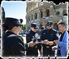 Китайские полицейские в Италии