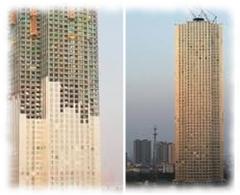 Модульный небоскреб