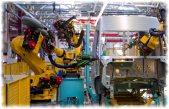 Робототизированная производственная линия