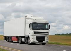 Российские грузовики на пути в Китай