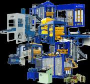 Линии вибропрессования для производства блоков и кирпича